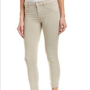 J Brand Luxe Sateen Anja Biscuit Pants NWT $198